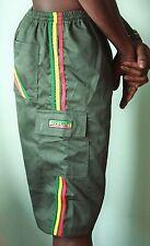 Rasta Shorts Bermuda _ _ OLIVE VERDE _ Bermuda Shorts _ reggae, Jah Army