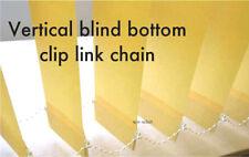 Ciegas Verticales inferior Clip eslabón de la cadena por 50 Clips Con Cuentas De Cable De Listones De Cadenas De Eslabones