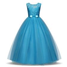 Blumenmädchen Prinzessin TOP Kleid Party Hochzeit Mädchen Kommunion Taufe SA311