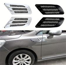 101813 Auto dekorative Lufteinlass Paar Schwarz oder Chrom  Entlüftung für SMART