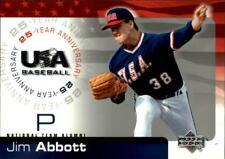 2004 USA Baseball 25th Anniversary Baseball Card Pick