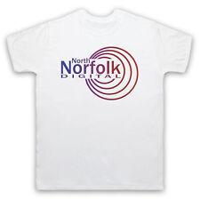 NORTH NORFOLK DIGITAL ALAN PARTRIDGE RADIO STATION LOGO ADULTS & KIDS T-SHIRT