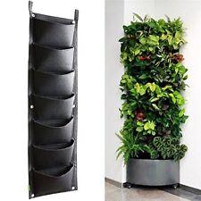 Vertical Greening Hanging Flower Pot Wall Balcony Garden Plant Planter Bag Decor