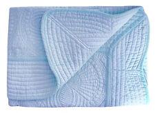 100% Cotton Cora Toddler Crib Quilt Lightweight Baby Blanket