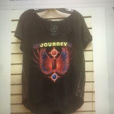 Trunk Ltd Journey Womens Scarab Short Sleeve Top Black Vintage