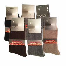 1/2/3 Pares de Calcetines de tobillo térmica alta calidad lana de cordero, caliente de invierno UK 7.5 - 8.5