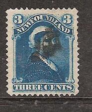 NEWFOUNDLAND # 49 Used QUEEN VICTORIA   ( 0221 )