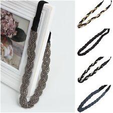 Stirnband Haarband Kopfband Zopfgummi Haarschmuck Kopfschmuck Geflochten