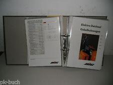 Prospekte Konvolut MIC Gabelstapler Forklift Hubwagen Stand 1998 - 2000