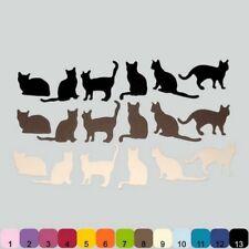 18 Découpes en papier _ MINI CHATS CAT 3,5cm _ Die cut scrapbooking carterie