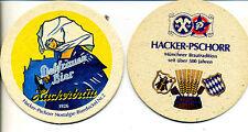 Bierdeckel--Hacker Pschorr --Nostalgie Bierdeckel Nr. 2-