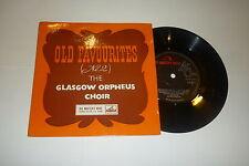 """THE GLASGOW ORPHEUS CHOIR - Old Favourites No 2 - UK EMI 7"""" Single"""