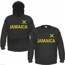 Jamaica sweat ou Hoodie Noir/jaune-taille s à 3xl-Jamaïque le reggae