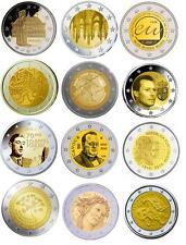 2 euro pièce commémorative 2010 neuve LUXEMBOURG, PORTUGAL, FINLAND , ALLEMAGNE