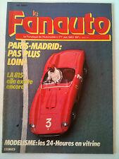 Le Fanatique de l'Automobile n°177 ; Modélisme; les 24 heures en vitrine