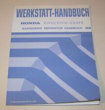 Werkstatthandbuch Karosseriereparatur Honda Civic / Civic Coupe - Stand 1999!