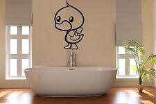 Cuarto de baño Pato pegatinas de pared arte Habitación Decoración Wc bat40