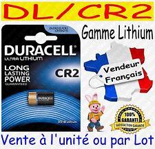 Piles DURACELL TYPE CR2 DLCR2 - Vente aussi : CR2032 CR2025 CR2016 CR2430 CR2450