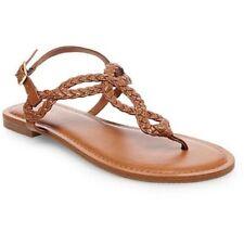 Merona Woman's Cognac Brown Jana Strap Summer Sandals NWT Choose Size