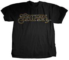 SANTANA T-Shirt Copper Foil Logo OFFICIAL MERCHANDISE