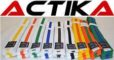 Budogürtel zweifarbig Karate Judo Taekwondo Kampfsport Ju-Jutsu Karategürtel
