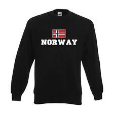 Sweatshirt NORWEGEN (Norway), Flagshirt, Fanshirt S - 6XL (WMS02-44c)