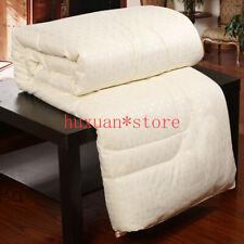 100% Chinese Silk Comforter Quilt Duvet Filler Mulberry Silk Blanket Winter Hot