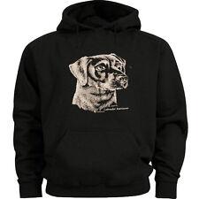 Labrador Retriever dog breed sweatshirt Men's size sweat shirt black lab hoodie