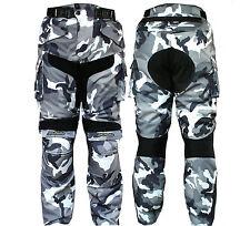 Pantalone Cordura Per moto Black/White Mimetico mod-3132