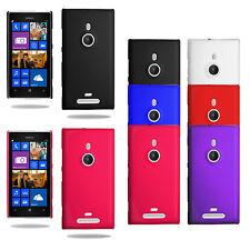 Für Nokia Lumia 925 N925 Slim Hybrid Hard Case Clip On Cover & Displayschutz