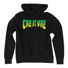 Creature Skateboard Pullover Hoody Sweatshirt Logo Black