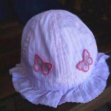 Brand New Baby Girl Kid Child Toddler Cotton Bucket Sun Cap Hat Sunhat Sizes