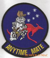 ANYTIME MATE AUSTRALIAN F14 TOMCAT VF USS US NAVY RAAF PATCH
