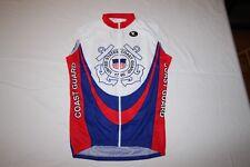 US Coast Guard Custom Cycling Jerseys - sleeveless - size XLG and XXL