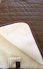 """lit supérieur """" bronze """" Couvre-lit, couvre-lit 100% laine fabriqué en Allemagne"""