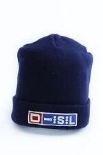 Cappello invernale da uomo blu Diesel access berretto casual