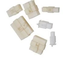 10x Gehäuse Stecker 2,8mm/6,3mm Flachsteckhülsen Flachstecker Steckergehäuse