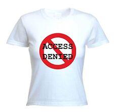 Accès refusé T-Shirt-Hen Do mariage fête drôle mariée-tailles S à XL