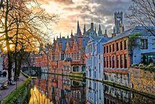 251726 Bruges Belgium Buildings  WALL PRINT POSTER US