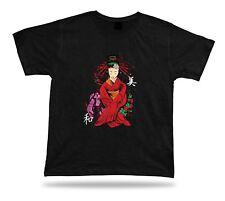 Japanese Sakura Red Princess modern t shirt design special birthday gift tee