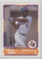1989 Score Factory Set Young Superstars II #10 Cecil Espy Texas Rangers Card