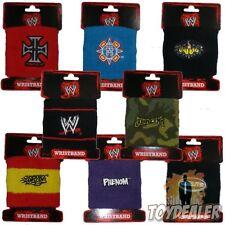 WWE Logo Wrestling Wristband Armband Schweissband Sport Training Fan Sweatband