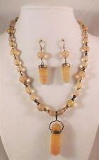 Fluorite Necklaces, Bracelets & Earrings by Healing Light Stones Rainbow Golden