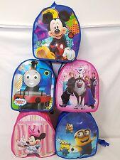 Childrens Nursery School Bag Kids Lightweight Travel Shoulder Backpack Toddler M