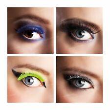 Deluxe False Individual Use Long Extra Large Eye Lashes Eyelashes Pair Colours