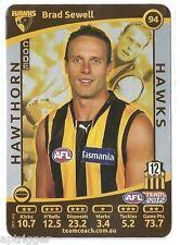 2012 Teamcoach SILVER (94) Brad SEWELL Hawthorn