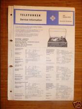 Service Manual Telefunken HiFi Centre 4525 ,ORIGINAL