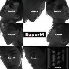 SuperM 1st Mini Album CD+Photobook+Photocard+Folded Poster+Tracking Code
