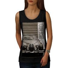 Funky Vintage Coche Retro Mujeres Camiseta sin mangas Nuevo | wellcoda