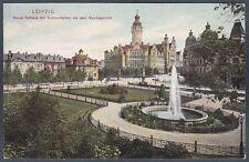 GERMANIA DEUTSCHLAND LIPSIA LEIPZIG 16 Cartolina